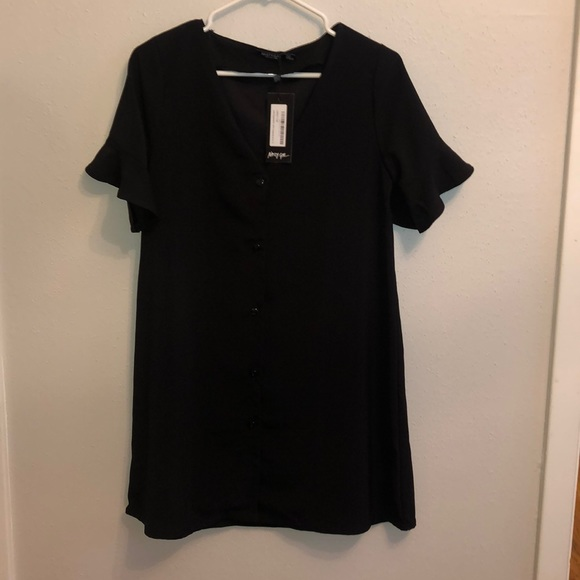 Nasty Gal Dresses & Skirts - NWT Nasty Gal button front dress